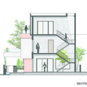 SECTION - The Box House: Ngôi nhà với những mảng xanh đồng bộ với thiên nhiên
