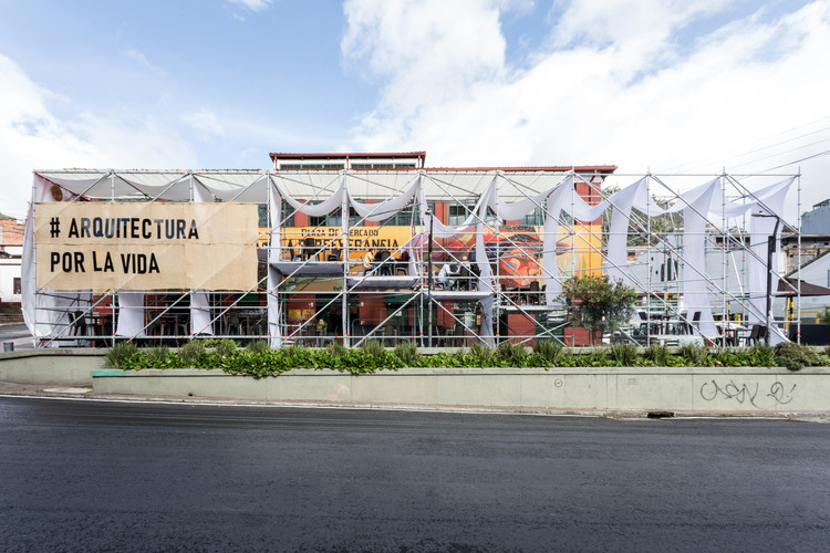 Instalación Activación Vertical / Taller Architects + Colab-19 + SCA, © Diez Veinte Estudio