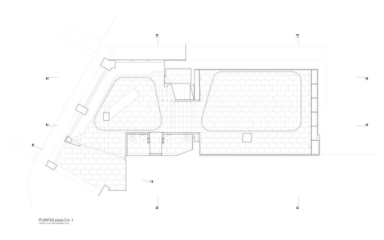 Plan - Basement / Plan - Ground floor