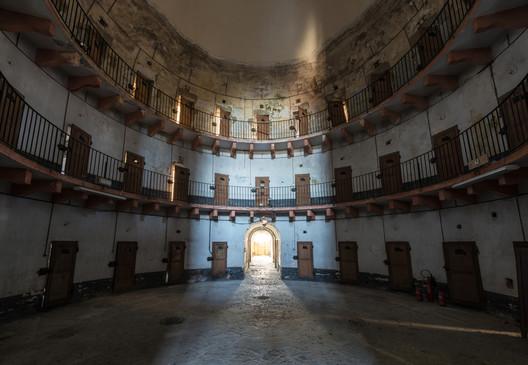 The Panopticon Prison- France. Image © Romain Veillon