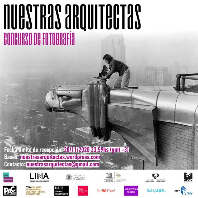 Concurso de fotografía Nuestras Arquitectas 2020, Florencia Marciani