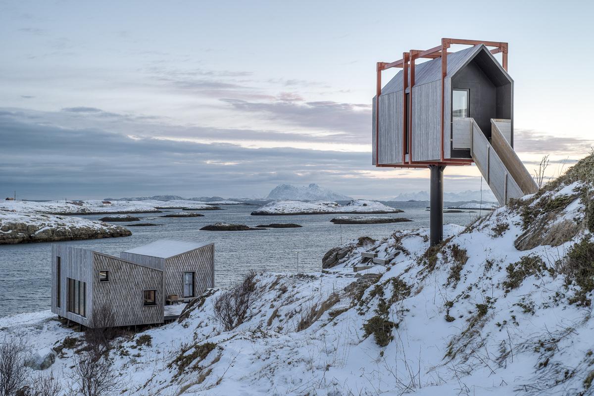 Arquitectura y Naturaleza: Un marco para la construcción en el paisaje,Refugio Fleinvær por TYIN Tegnestue + Rintala Eggertsson Architects. Imagen © Pasi Aalto