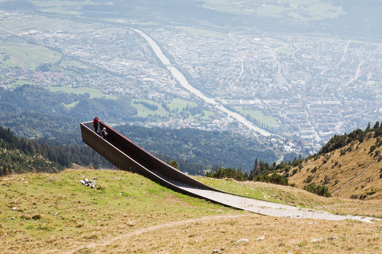 Path of Perspectives Panorama Trail by Snohetta. Image © Christian Flatscher