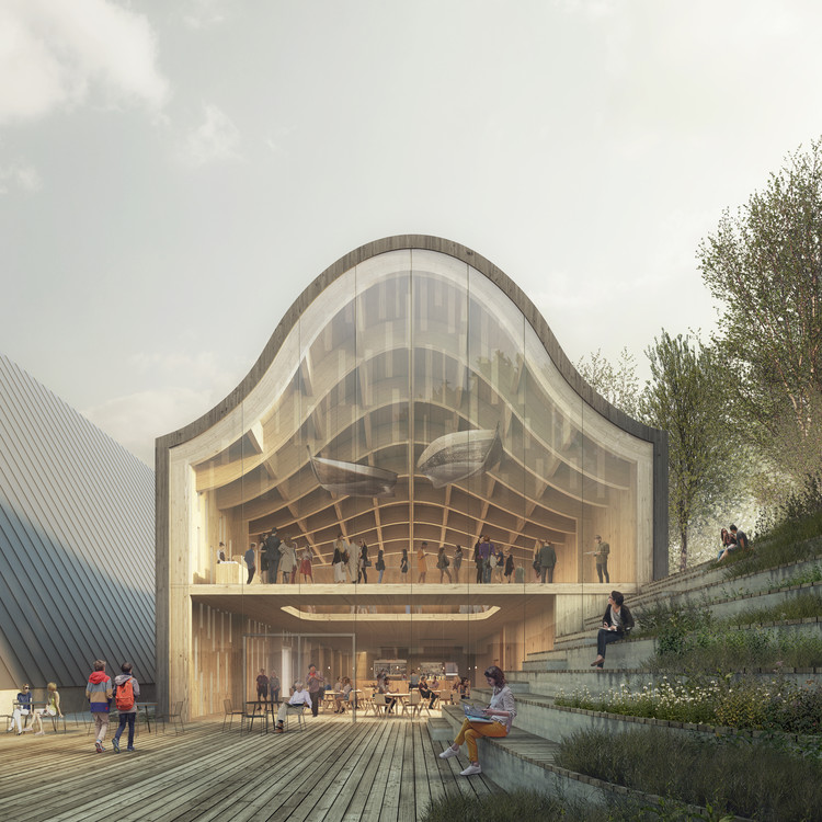 Reiulf Ramstad Arkitekter Wins Competition to Design Norway's Polar Exploration Museum Newest Extension, Courtesy of Reiulf Ramstad Arkitekter