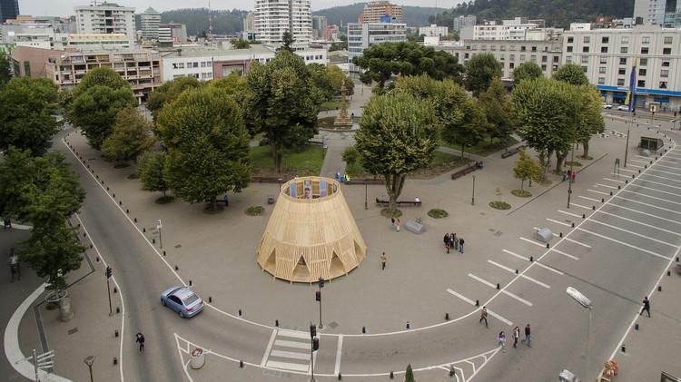 Pabellones en las ciudades: 10 estructuras que fomentan las interacciones humanas, © Gino Zavala Bianchi