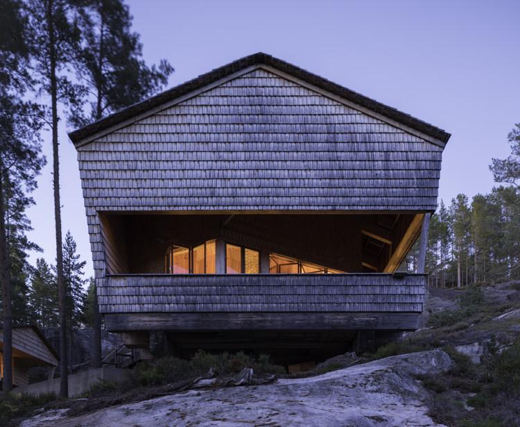 The Cuckoo's Nest Cabin / Hoem + Folstad Arkitekter 1