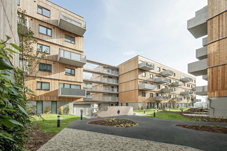 Wood Housing Seestadt Aspern / Berger+Parkkinen Architekten + Querkraft Architects