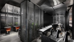Chernyi Coffee Bar / Ponomarenko Bureau