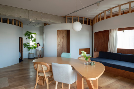 Rib Apartment / Ryu Mitarai & Associates, Architects