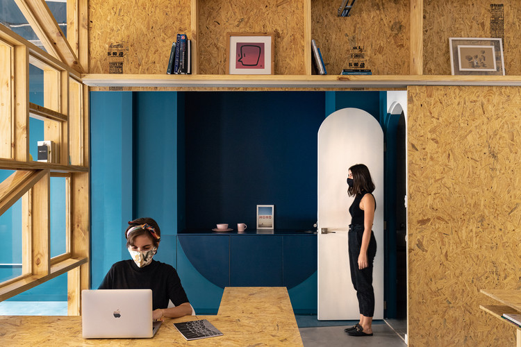 Architecture and Masks: A Visual Representation of Time, Fibras Orientadas Office / Juan Alberto Andrade + María José Vascones. Image © JAG Studio