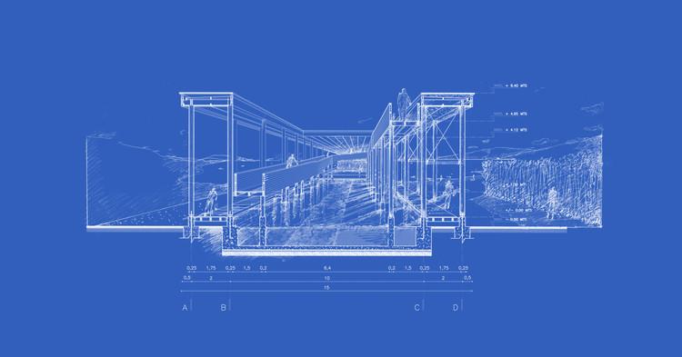 A importância do corte na representação e prática arquitetônica, Muelle de Mimbre / Domingo Arancibia. Image Cortesia de Domingo Arancibia