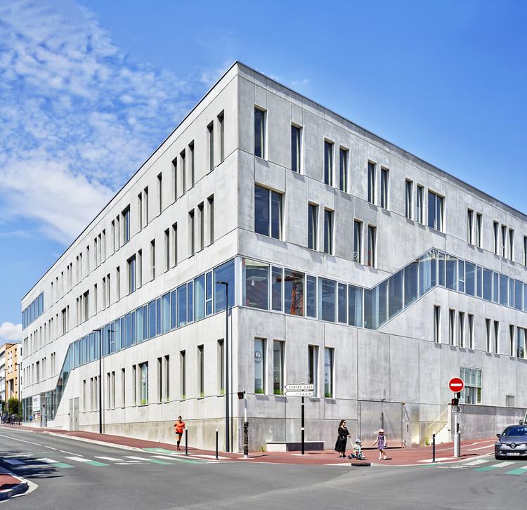 Edificio Booking.com / Coldefy, © Michel Denancé