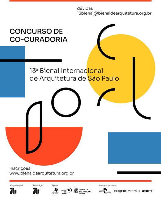 """13ª Bienal Internacional de Arquitetura de São Paulo terá como tema """"Reconstrução"""", Cortesia de IABsp"""