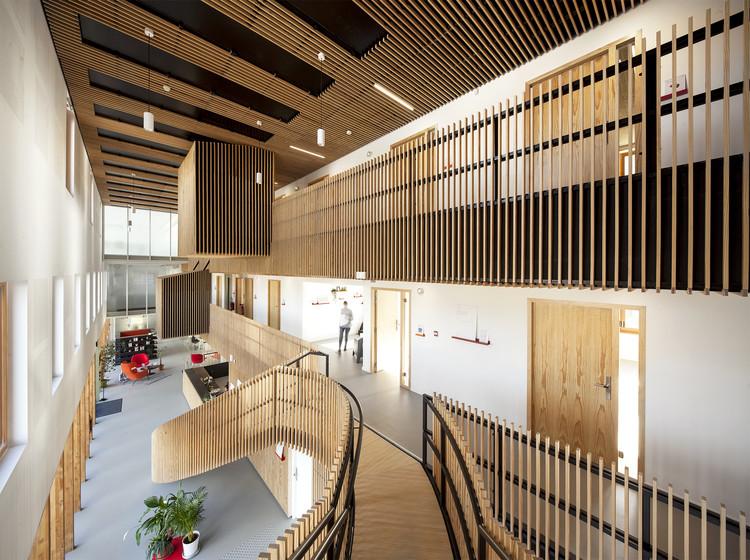AGORA Business Incubator  / CoCo architecture, © Edouard Decam