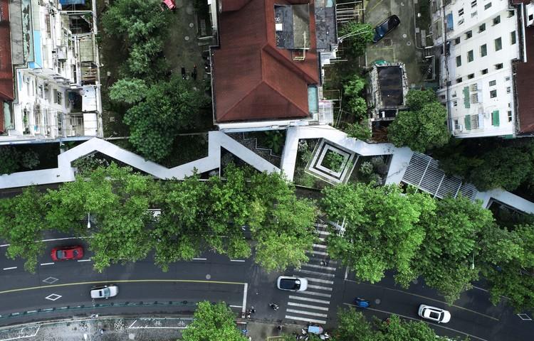 Changli Garden / TM Studio, top view of south part. Image Courtesy of TM Studio