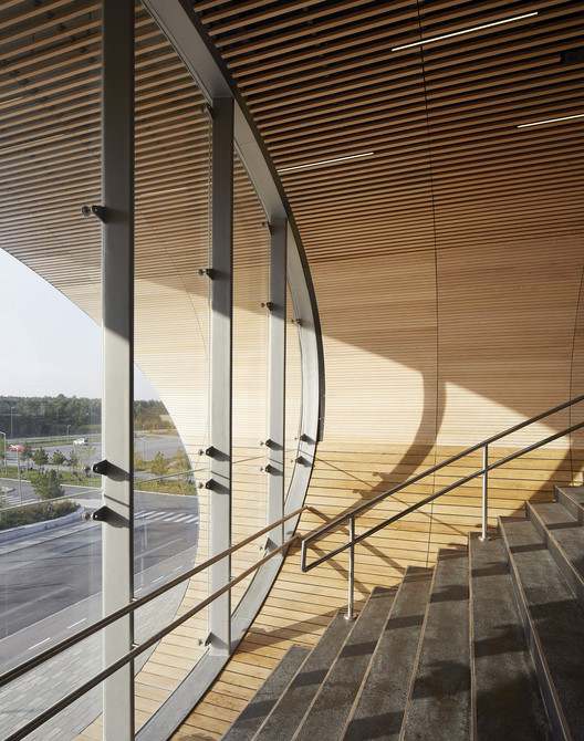 Estación Køge Nord. Imagen © Hufton+Crow