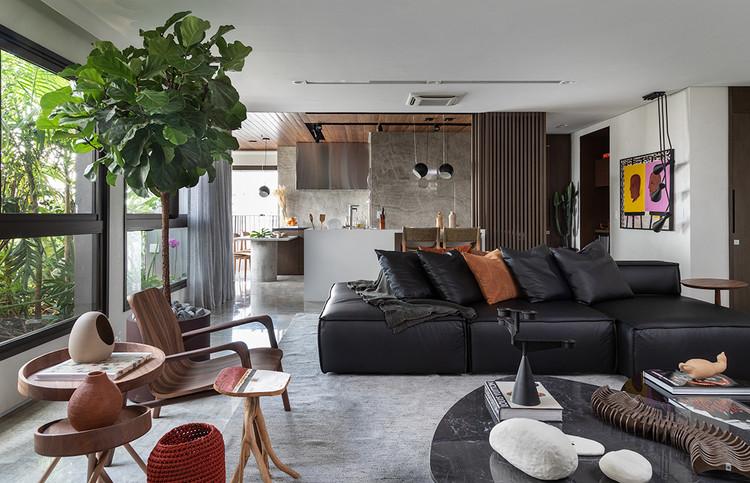 Apartamento 201 / Malbu Arquitetura e Interiores, © Evelyn Muller