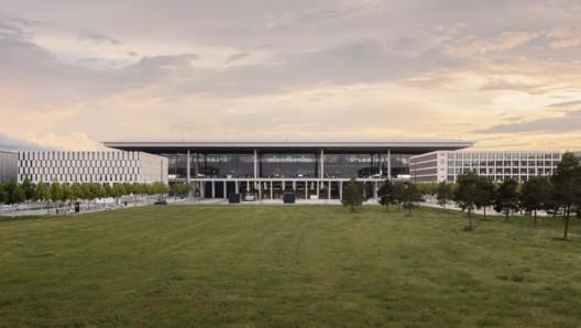 Berlin Brandenburg Airport Willy Brandt / gmp
