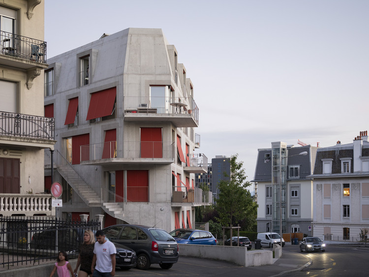 Edifíico Residencial Immeuble Verdeaux  / Dreier Frenzel Architecture + Communication, © Eik Frenzel