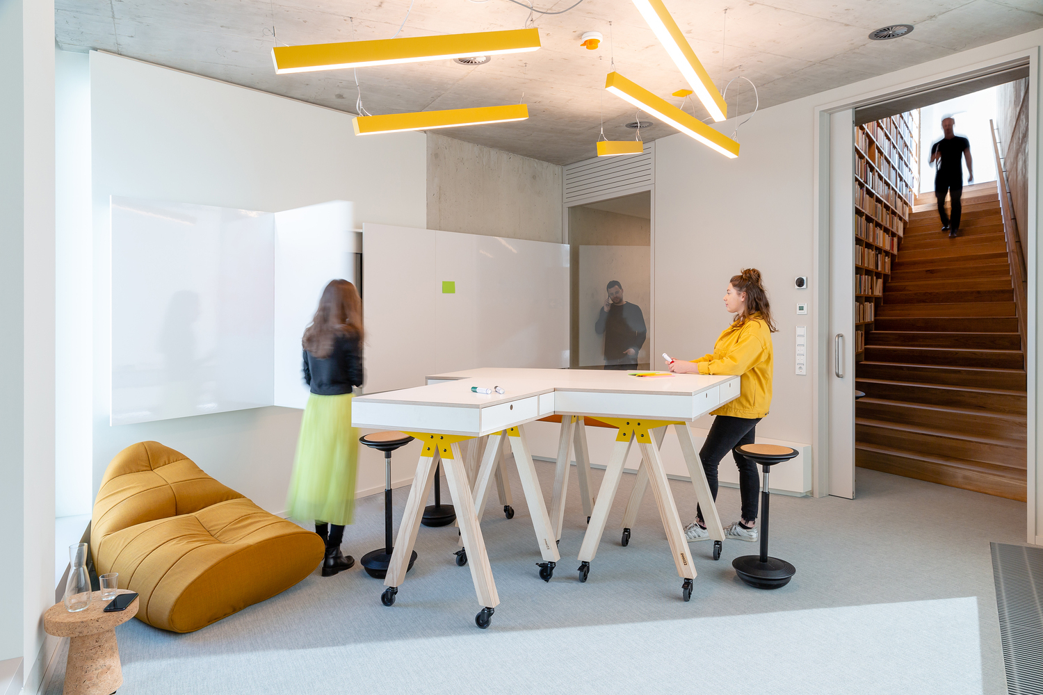 Why Should We Design Spaces with Furniture on Wheels?