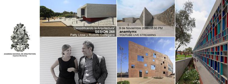 """Sesión 268. """"Decodificando la Arquitectura"""" Llosa Cortegana Arquitectos."""