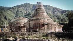 Albergue Bamboo China / Studio Anna Heringer