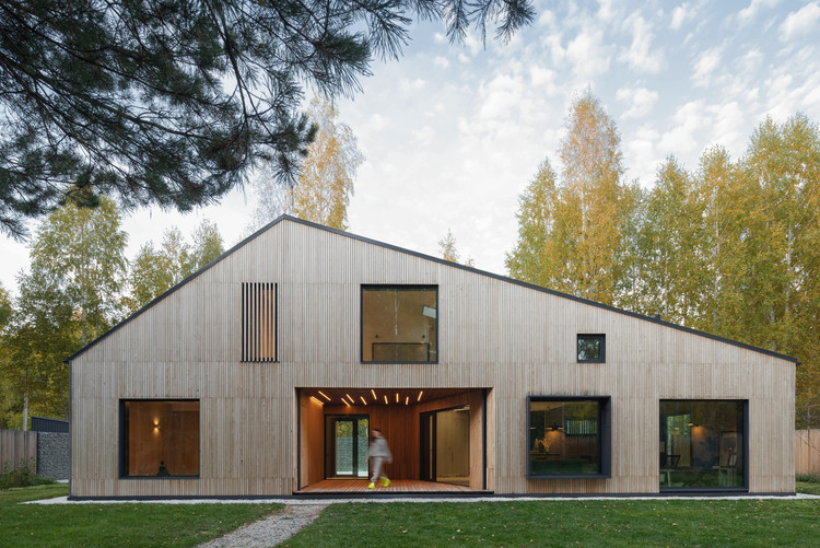 Siberian Retreat House / A61architects & YYdesign, © Ilya Ivanov