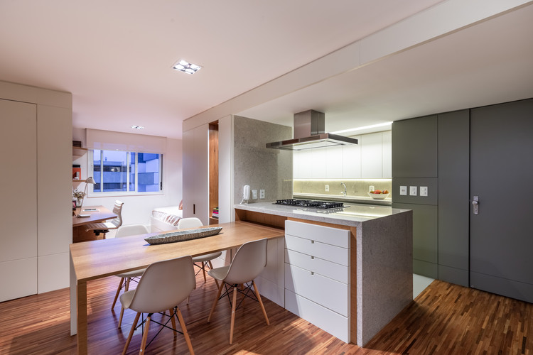 Apartamento Pavan / Núcleo de Arquitetura Experimental , © Marcelo Donadussi