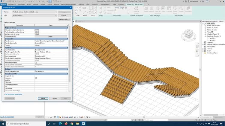 ¿Cómo modelar rampas y escaleras en BIM utilizando Revit?, Cortesía de GoPillar Academy
