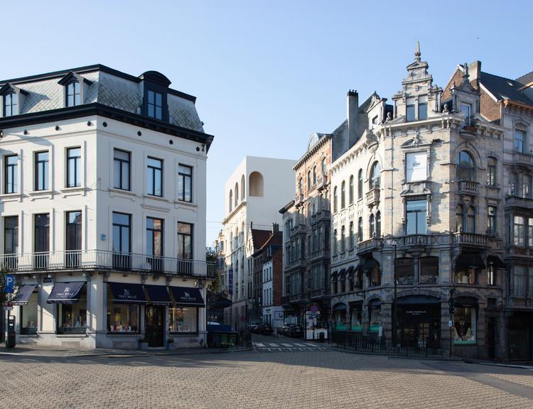 Barozzi Veiga gana el concurso para diseñar y renovar el Museo Judío de Bélgica, Cortesía de BarozziVeiga+TabArchitects+BarbaraVanDerWee