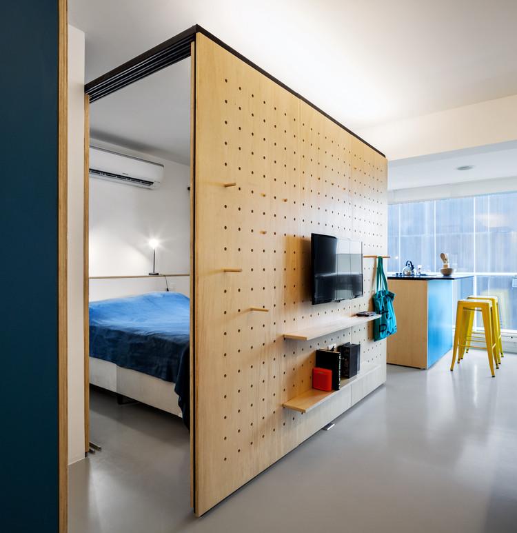 Apartamento Consolação / Canoa Arquitetura. Imagem @Rafaela Netto