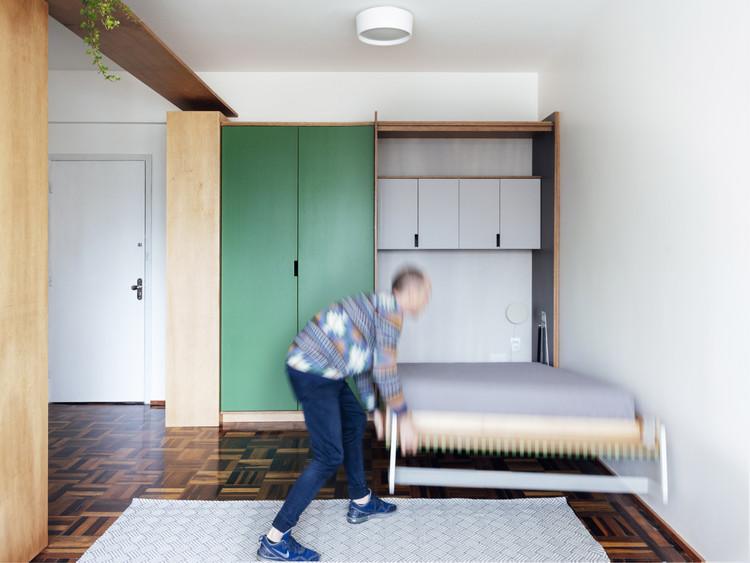 Apartamento Andradas / OCRE arquitetura. Imagem @Cristiano Bauce