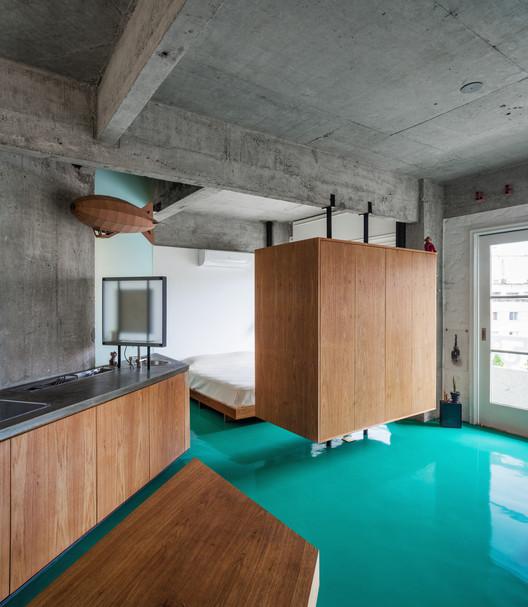 Apartamento Viadutos / Vão. Imagem @Rafaela Netto