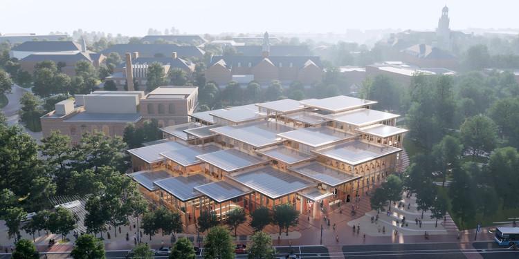 BIG projeta novo centro estudantil da Universidade Johns Hopkins, Cortesia de BIG-Bjarke Ingels Group
