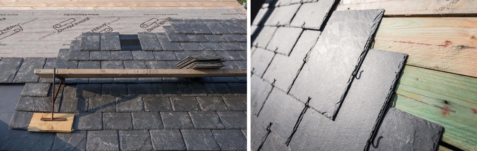 10 tipos de techos y las posibilidades de las cubiertas de pizarra,Tipos de instalação: Pregos / Ganchos. Image Cortesia de Cupa Pizarras