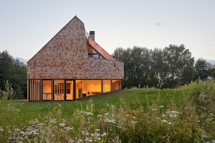 Cedar House / arches, © Norbert Tukaj