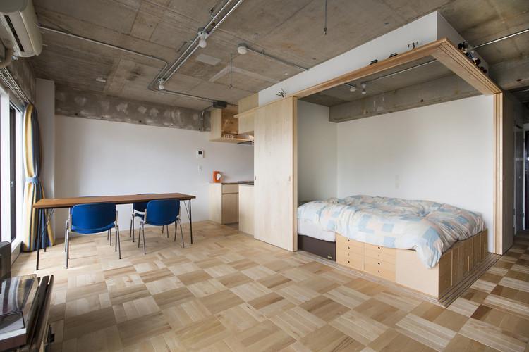 Tsukiji Room H / Yuichi Yoshida & associates. Image © Katsumi Hirabayashi