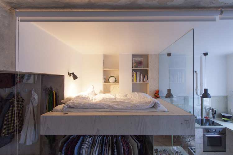 How To Take Advantage of the Space Under The Bed, HB6B / Karin Matz. Image Cortesía de Karin Matz