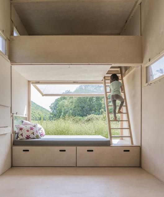 Cabin on the Border / SO? Architecture&Ideas. Image Cortesía de SO?