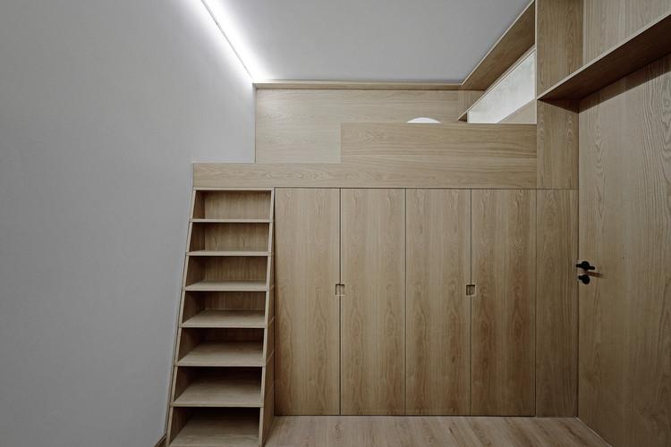 2 Single Rooms / Ji Architect. Image © Hongyue Wang