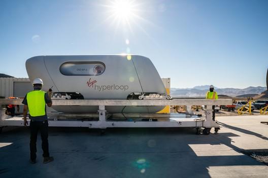Courtesy of Virgin Hyperloop