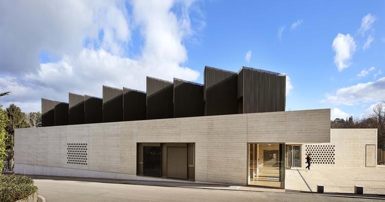 The Maison des Arts Arts Center / Tectoniques Architects, © Renaud Araud