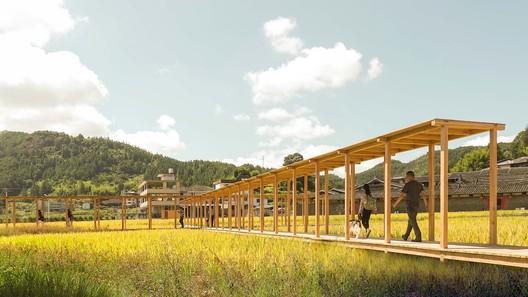 rice pavilion. Image Courtesy of Wiki World + Advanced Architecture Lab