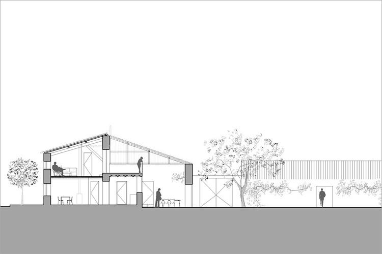 Rehabilitación y cambio de uso de granero en vivienda / G+F Arquitectos. Image