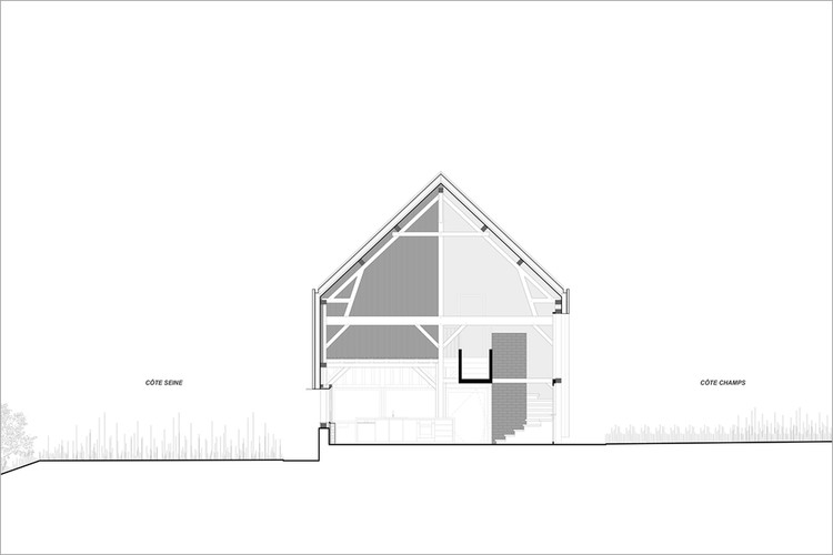 El granero / ZIEGLER Antonin architecte. Image