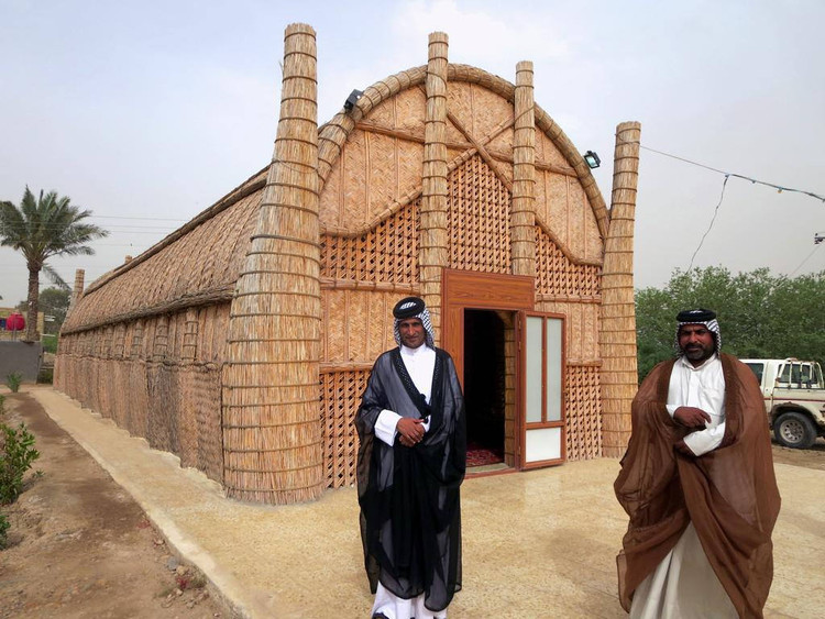 Reed Houses in Ma'dan, Iraq. © Flickr user davidstanleytravel licensed under CC BY 2.0