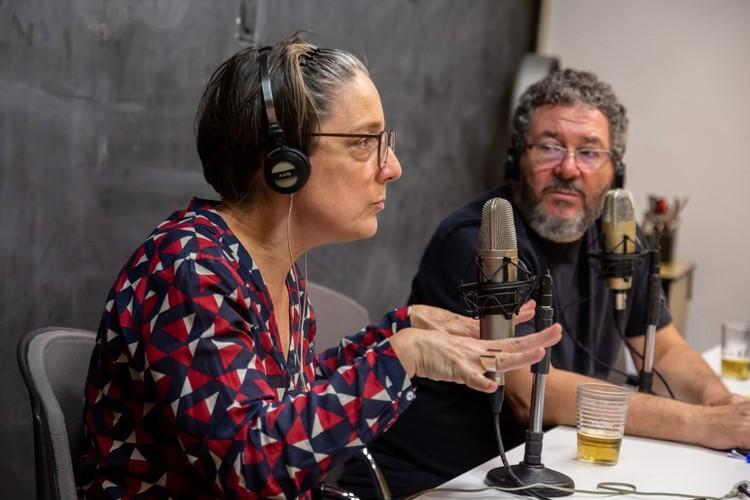 Betoneira, um podcast sobre arquitetura, pessoas e cidades, Marina Grinover e Marcelo Barbosa. Image © Ana Mello