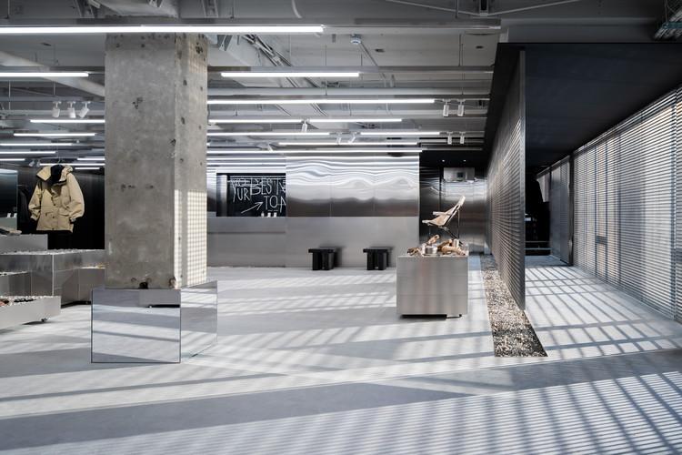 KOLON SPORT Hannam Store / studio fragment, © Kim Donggyu