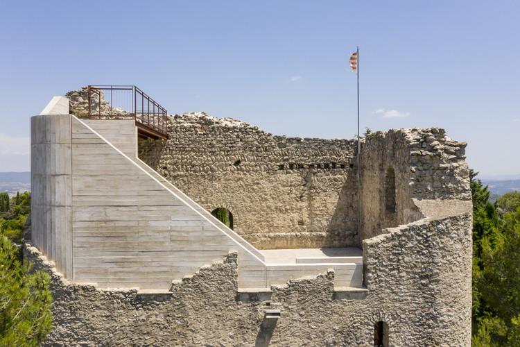 Restauración del Castell de la Tossa / Meritxell Inaraja, © Adrià Goula