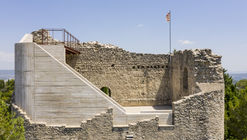 Restauración del Castell de la Tossa / Meritxell Inaraja